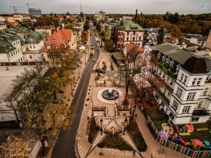 ul. Słowackiego - jesień