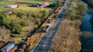 Budowa chodnika wzdłuż DK9