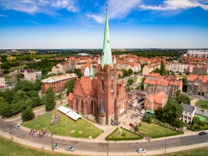 Legnica - sanktuarium św. Jacka (ŚDM)