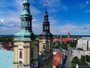 Legnica - wieże św. Jana